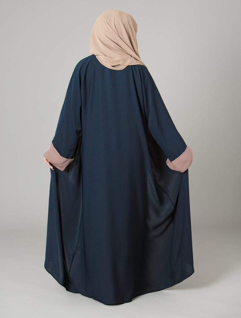 Bashirah Abaya in Navy - Al Shams Exceptional Islamic Apparel - 4