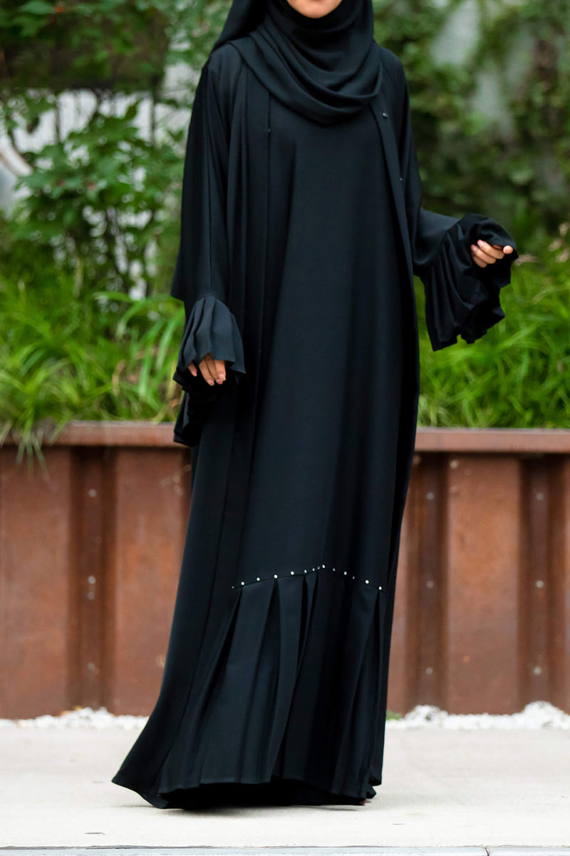 Swarovski Essential Maxi Sheath Dress in Classic Black