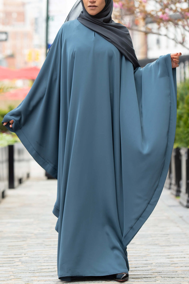 Chamisa Abaya in Teal | Al Shams Abayas 2