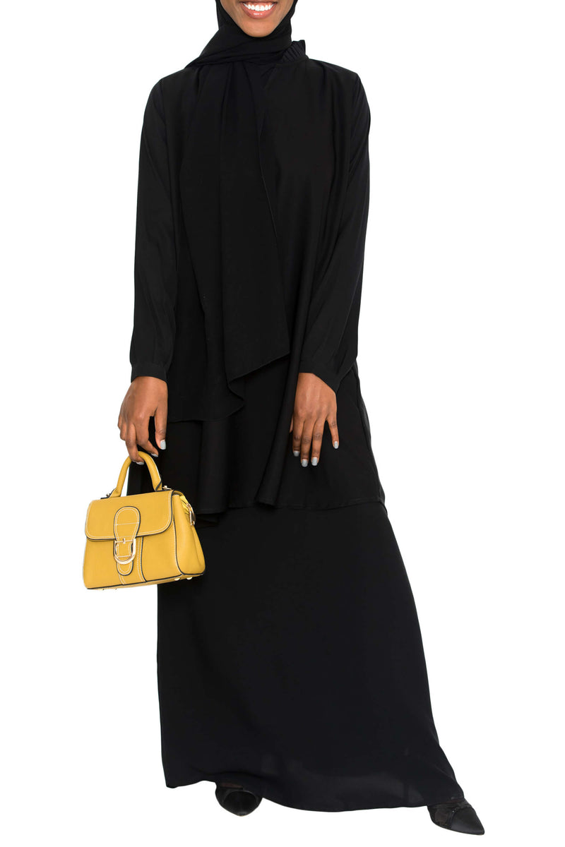 Ellie Tunic Black | Al Shams Abayas 5