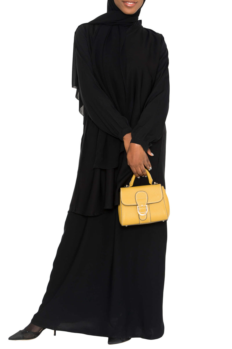 Ellie Tunic Black | Al Shams Abayas 6