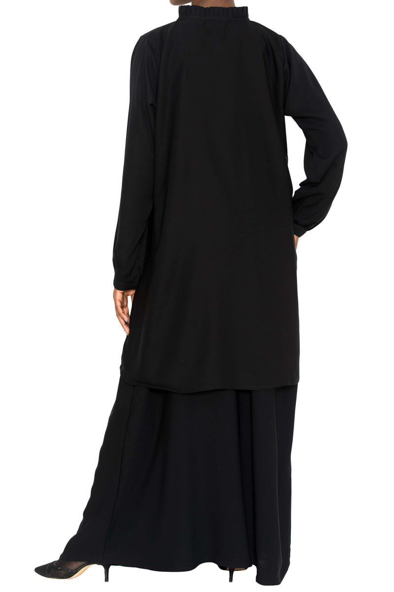 Ellie Tunic Black | Al Shams Abayas 8