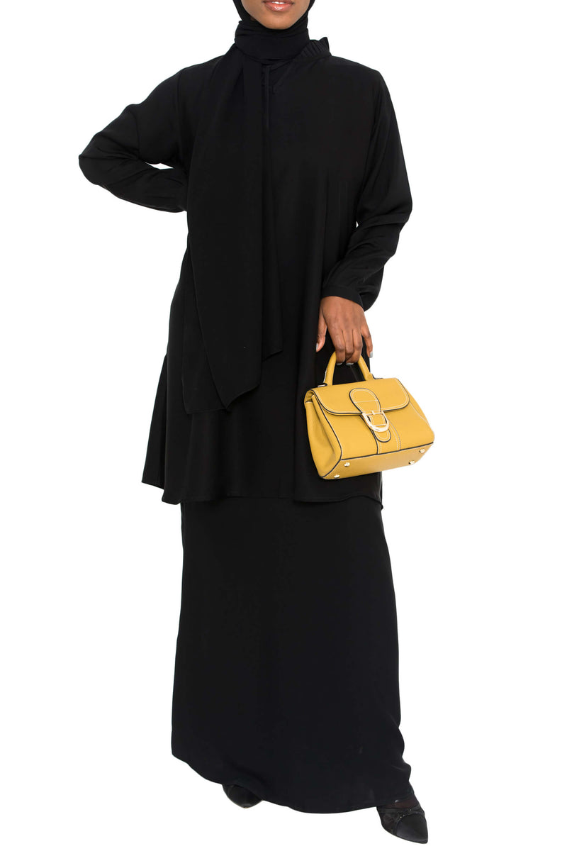 Ellie Tunic Black | Al Shams Abayas 1