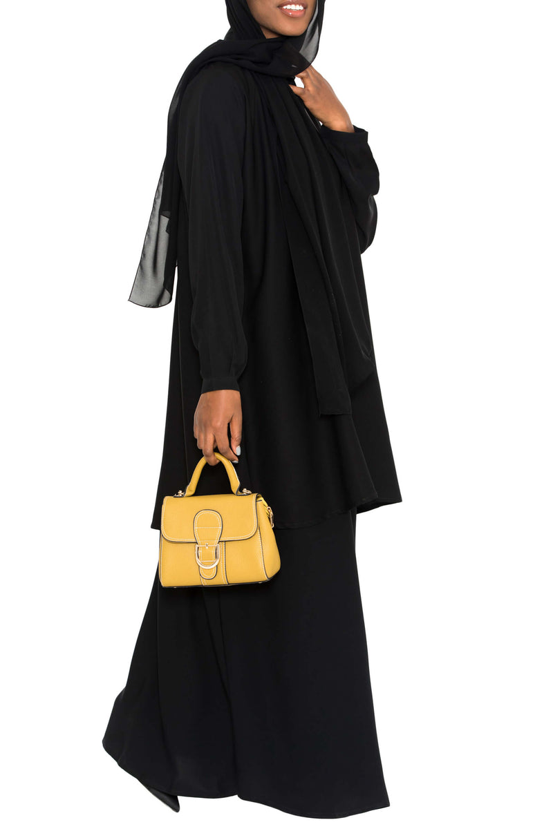 Ellie Tunic Black | Al Shams Abayas 3