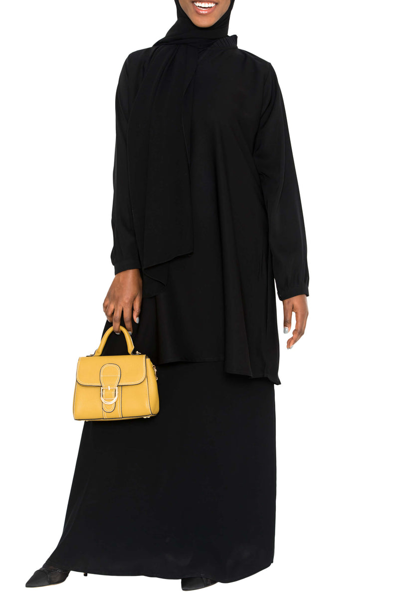 Ellie Tunic Black | Al Shams Abayas 4