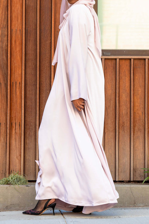 Essential Maxi in Light Lavender | Al Shams Abayas 2