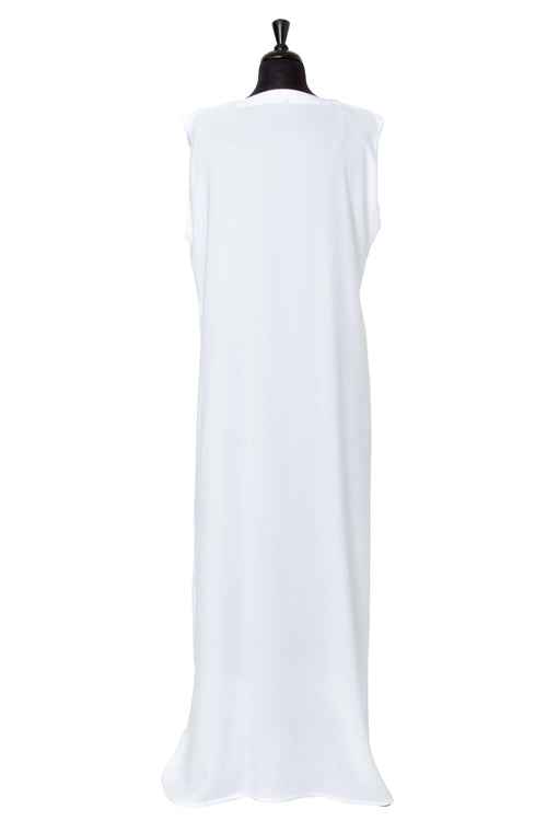 Essential Maxi in White | Al Shams Abayas 2
