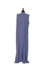 Essential Maxi Sheath Dress in Dusty Blue | Al Shams Abaya 2