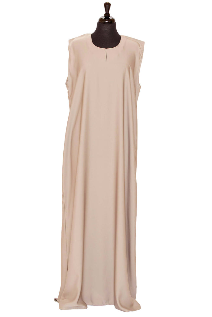 Essential Maxi in Light Taupe | Al Shams Abayas 1