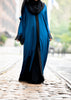 Farida Abaya in Persian Blue