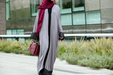Farida Abaya in Grey - Al Shams