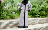 Farida Abaya in Grey