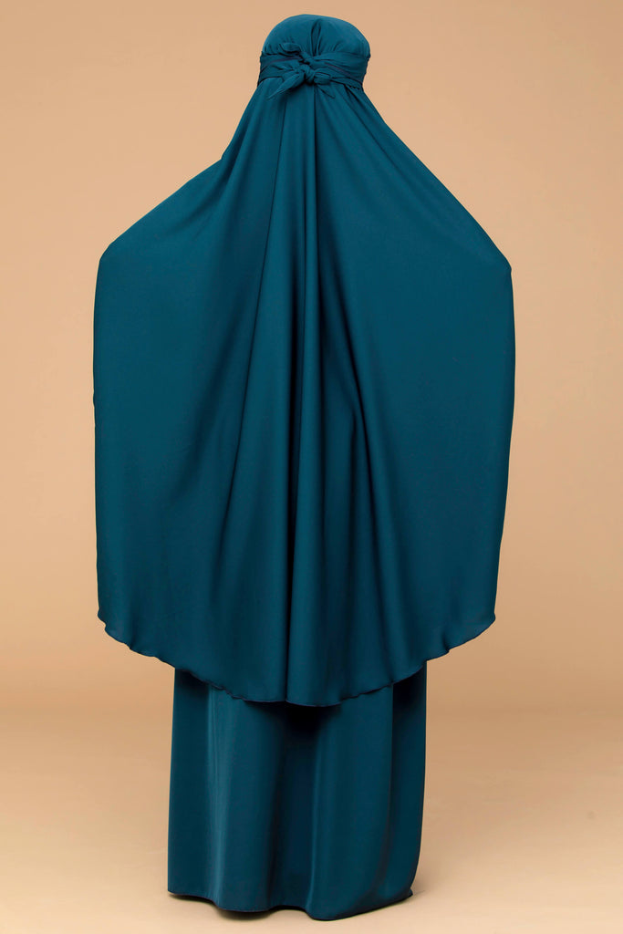Mahasen Jilbab Set in Jade  | Al Shams Abayas 27