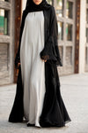 Essential Maxi in Pastel Grey | Al Shams Abayas 4
