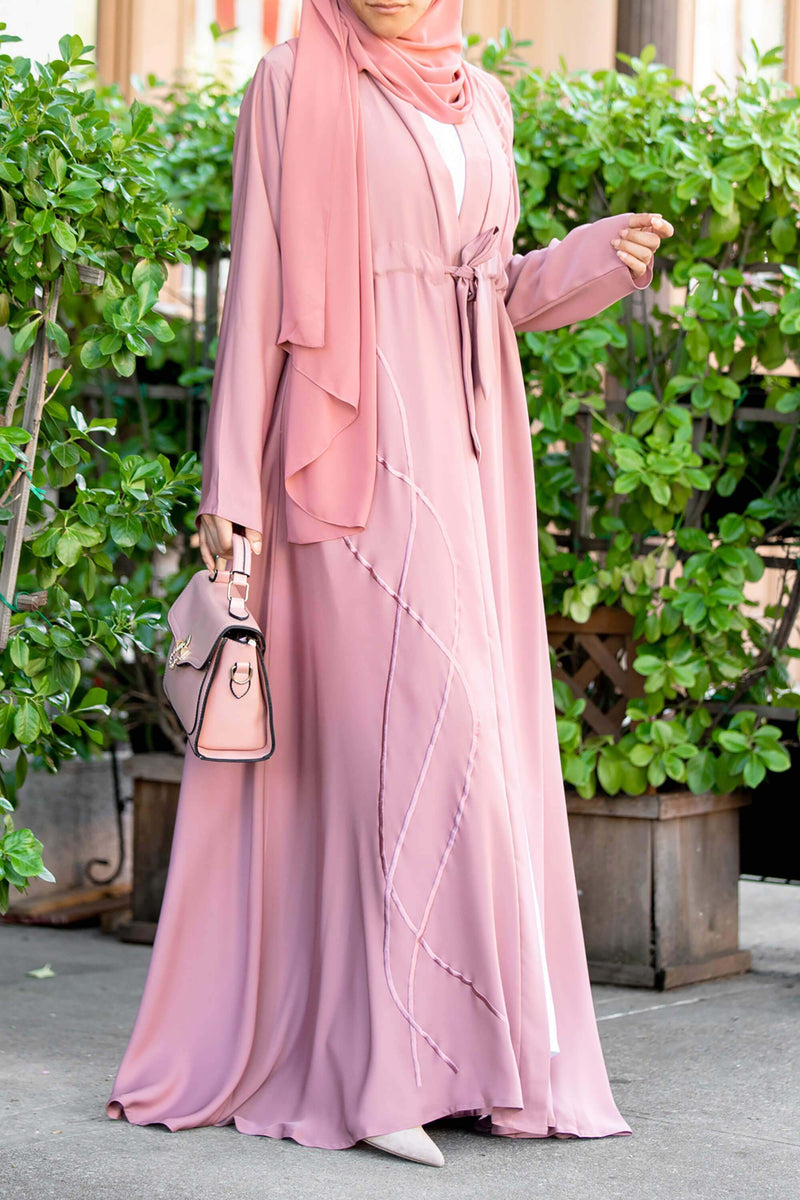 Melanie Abaya in Blush
