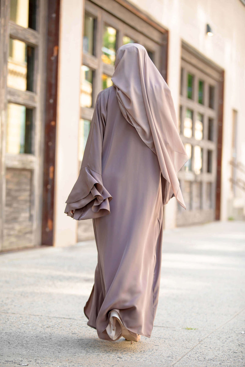 Rana Abaya in Cocoa | Al Shams 6