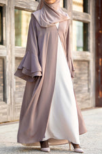 Rana Abaya in Cocoa | Al Shams 8