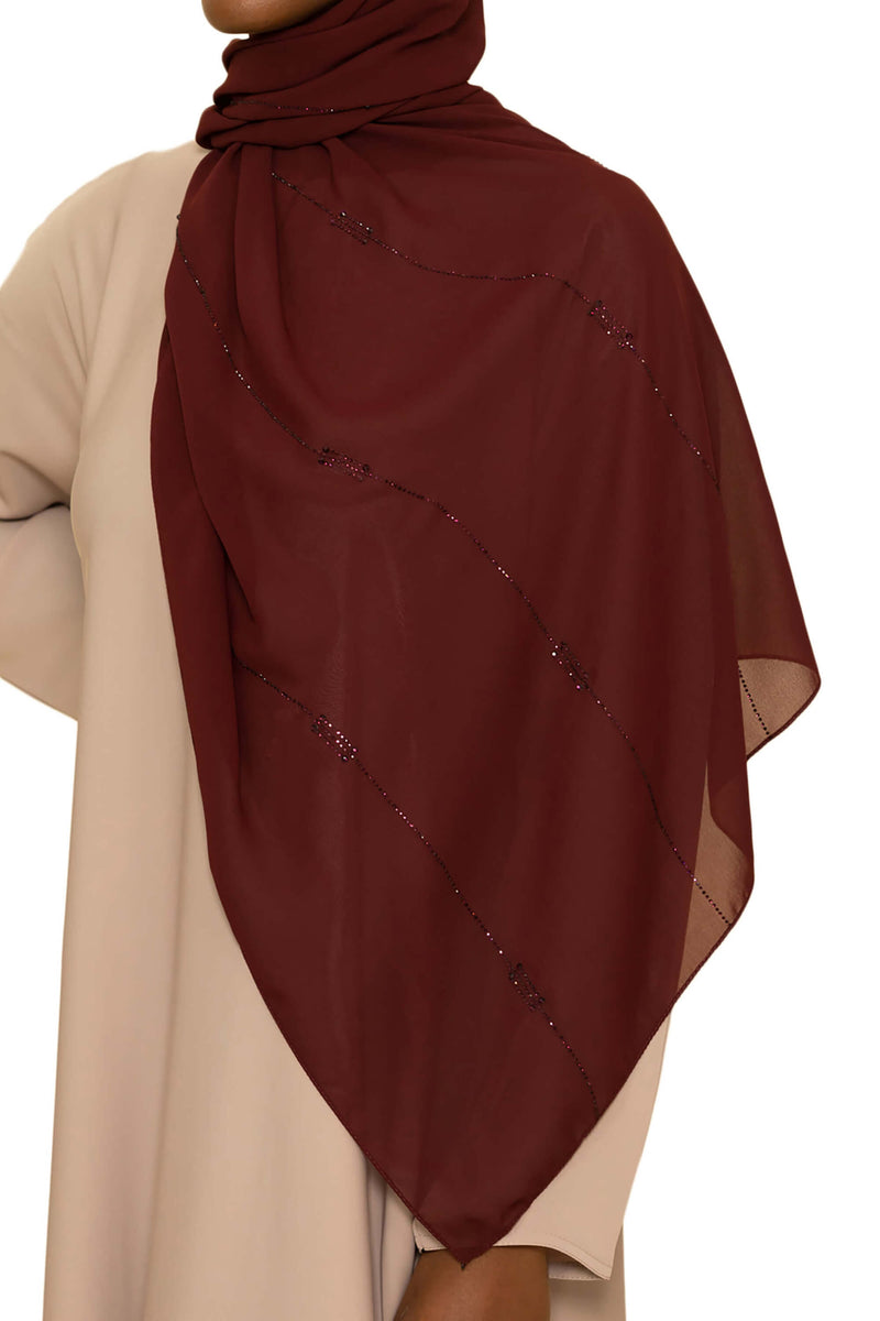 Sincerity in Cranberry Crush 6 | Al Shams Abayas 6