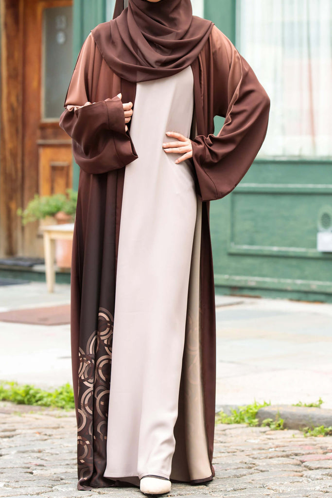 Essential Maxi in Arabian Sand | Al Shams Abayas 3