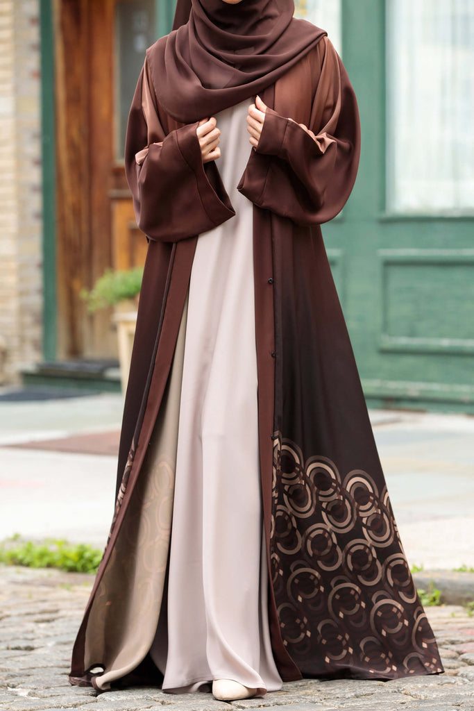 Essential Maxi in Arabian Sand | Al Shams Abayas 4
