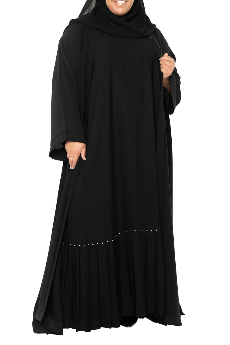 Plus Size Essential Maxi in Classic Black | Al Shams Abayas 5
