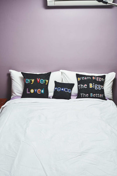 Dream Bigger, Bigger The Better Throw Pillow