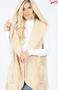 Soft Hooded Vest