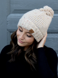 Cream Speckled Hat