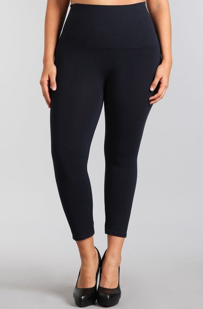 Crop Leggings (XL) (Navy)