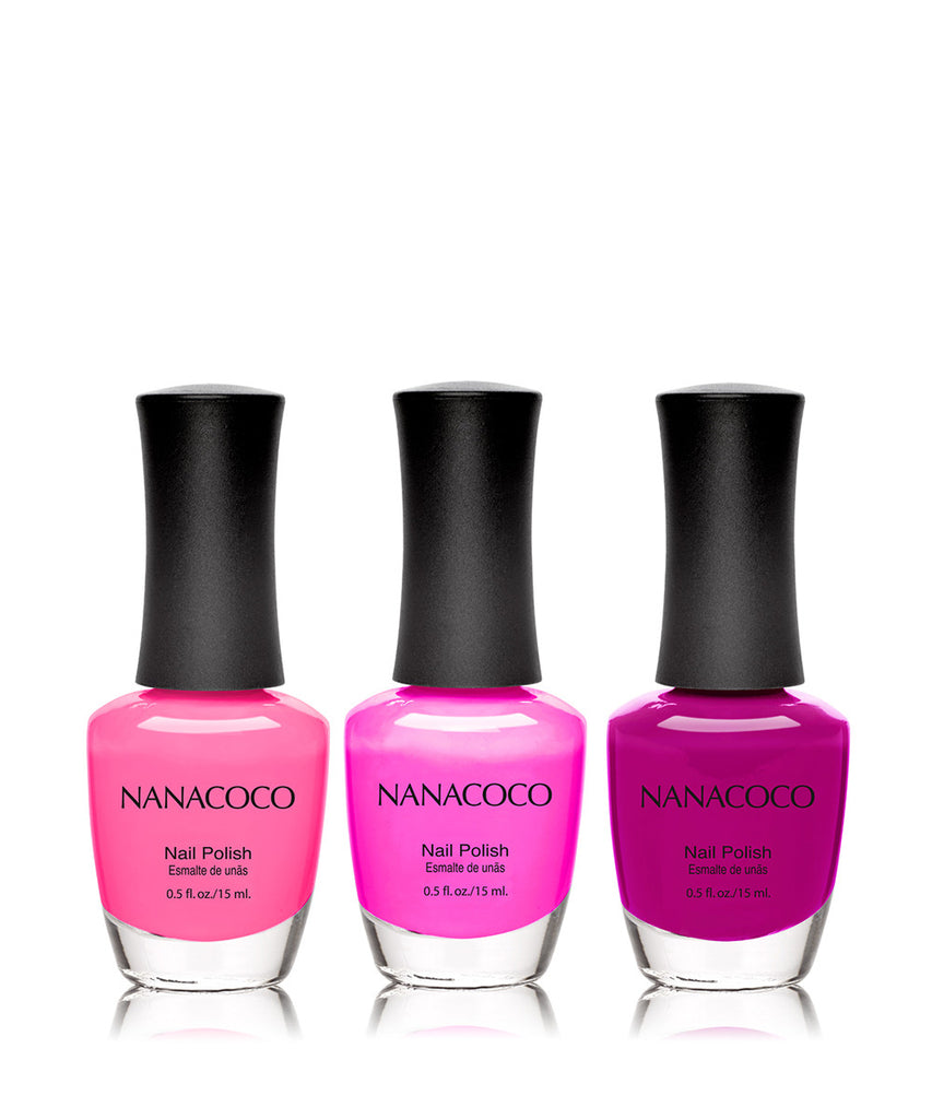 It's 5 o'clock Somewhere Collection: Three Piece Nail Polish Set