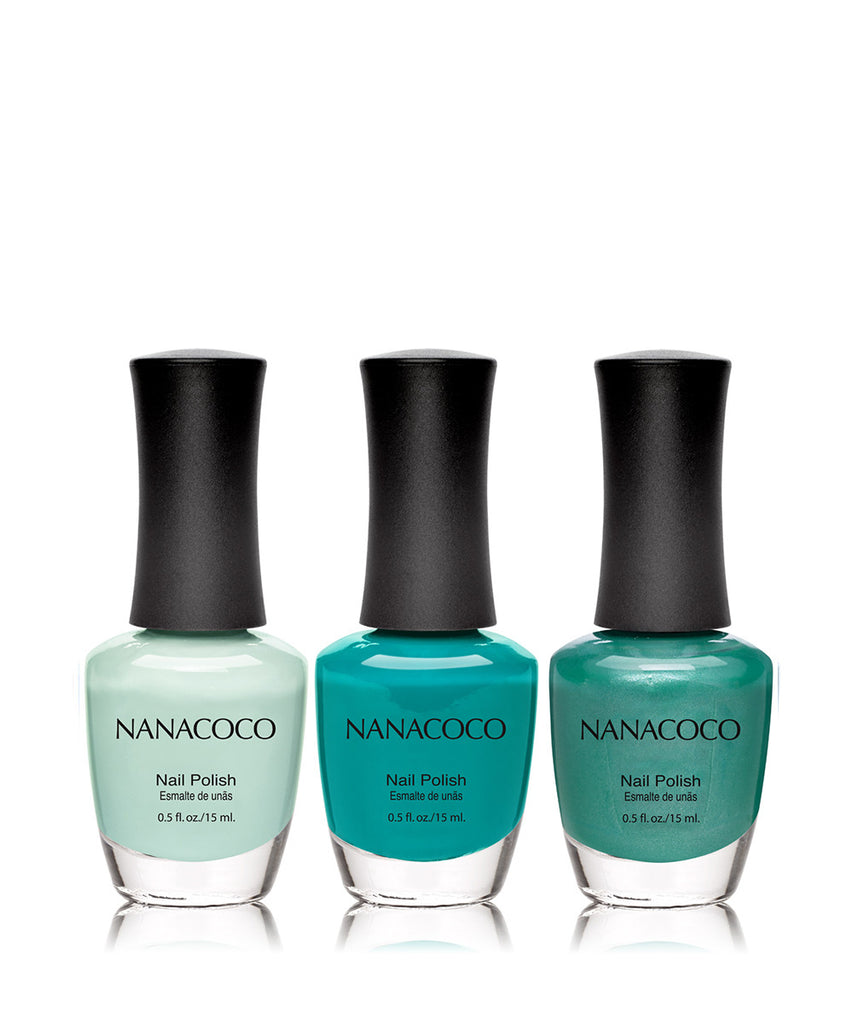 Under the Sea Collection: Three Piece Nail Polish Set