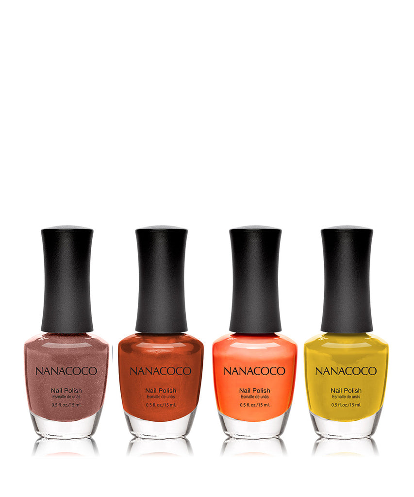 Up and Away Collection: Four Piece Nail Polish Set