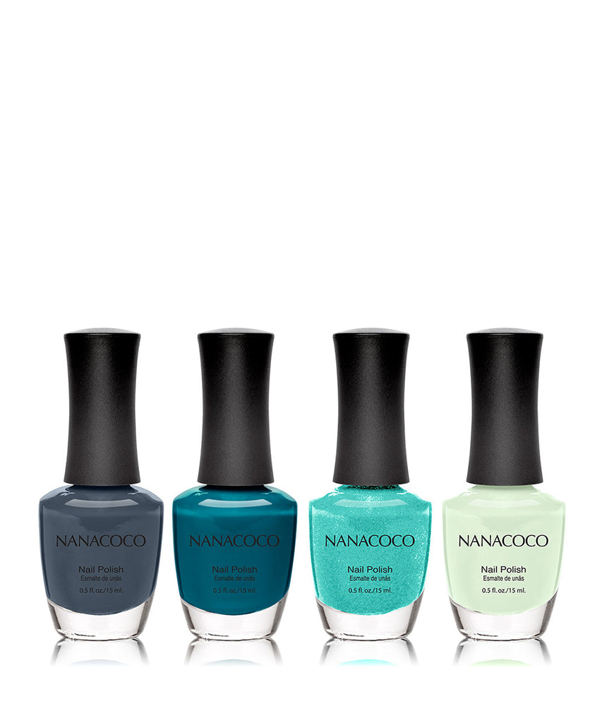 Weekend Getaway Collection: Four Piece Nail Polish Set