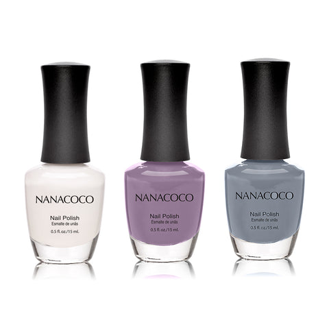 Violet Fairy Collection: Three Piece Nail Polish Set