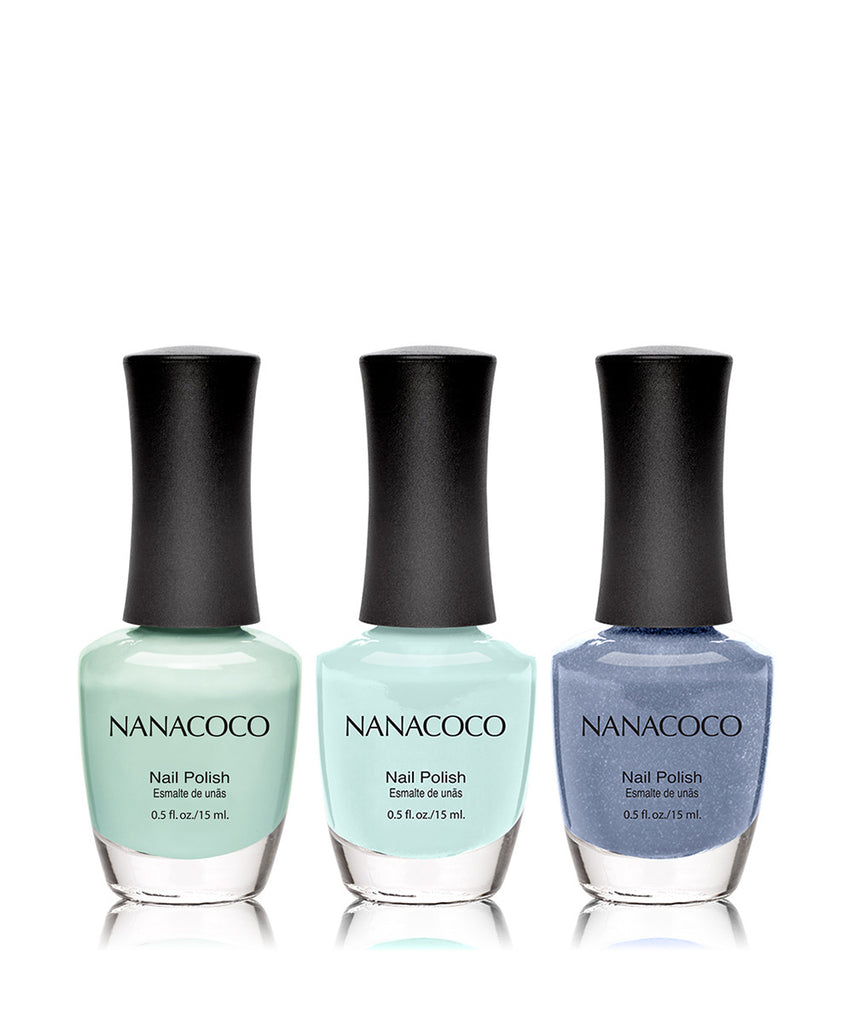 Spa Day Collection: Three Piece Nail Polish Set