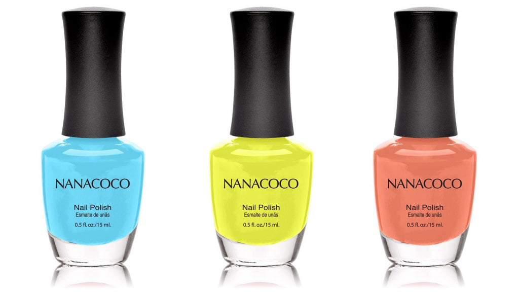 Beach Savvy Collection: Three Piece Nail Polish Set