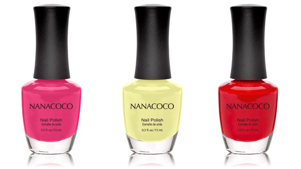 Beach Party Collection: Three Piece Nail Polish Set