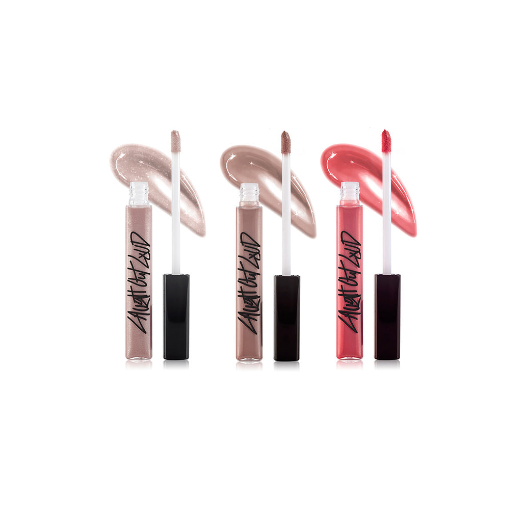 "Nanacoco ""Kitty Kitty"" Lip Gloss Set - 3pc"