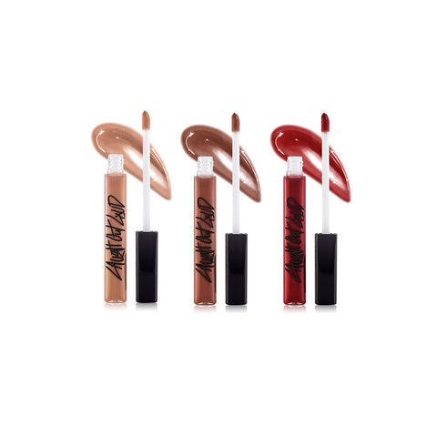 "Nanacoco ""Deep Kiss"" Lip Gloss Set - 3pc"