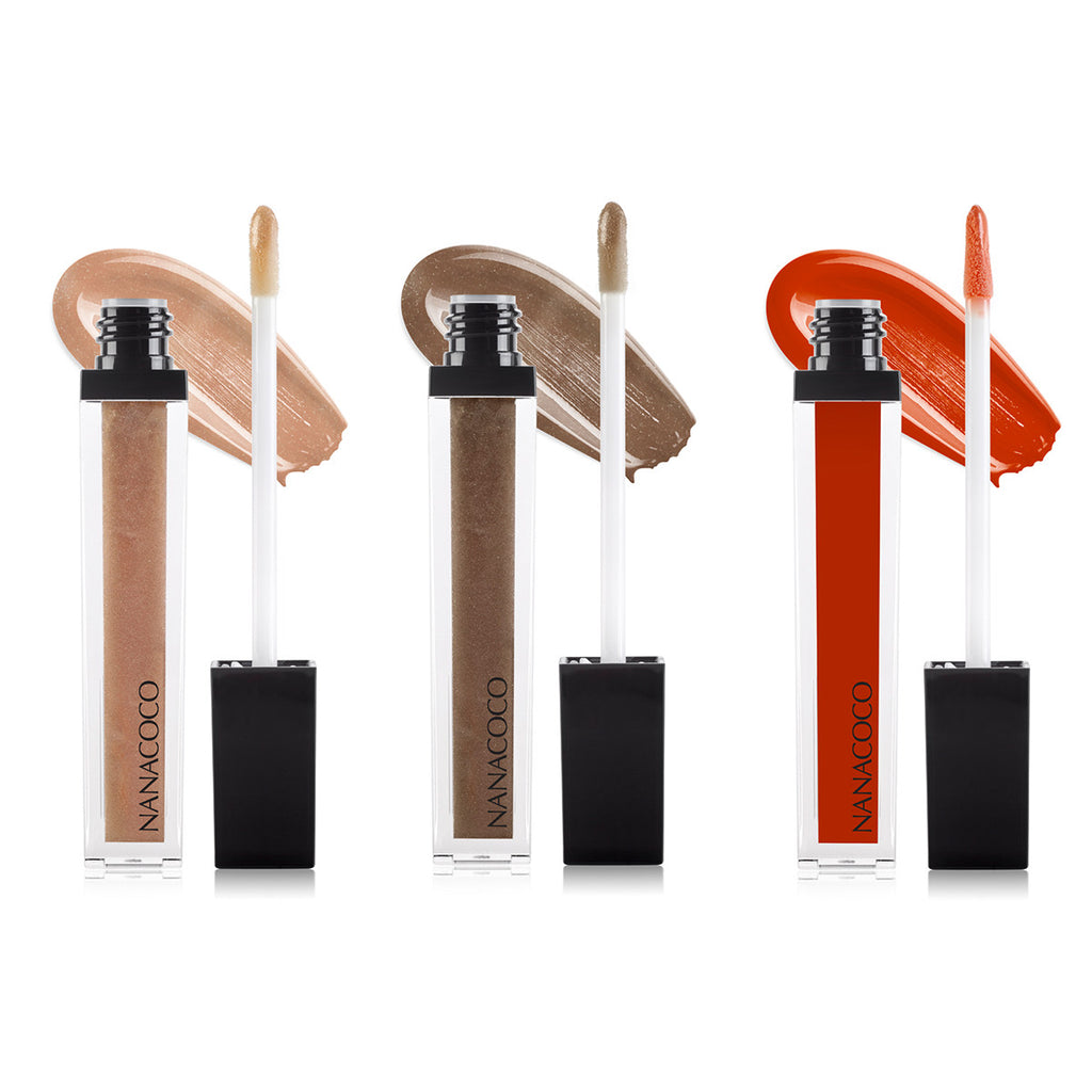 Jetsetter Collection: Three Piece Lip Gloss Set