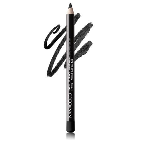 Nanacoco Black Wood Eye & Lip Pencil 22231