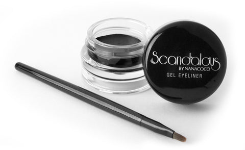 Nanacoco Black Scandalous Gel Eyeliner 22341