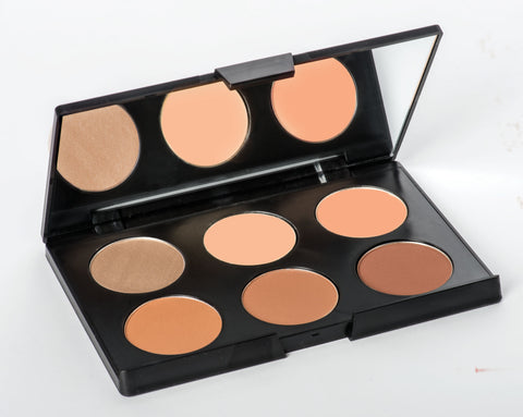 Contouring & Highlighting Kit, Medium Complexion