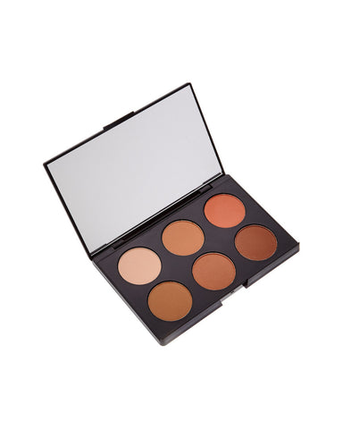 Contouring & Highlighting Kit, Dark Complexion