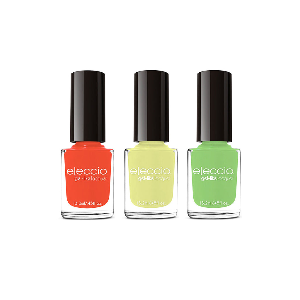 Morocco Collection: Three Piece Nail Polish Set