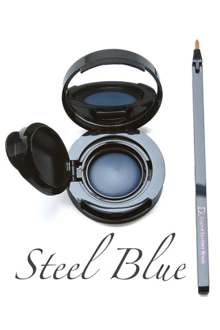Dalton Airless CríÂme Eyeliner with Dermaflex Steel Blue