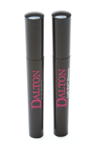 Dalton Cosmetics Lash Fix Volumizing Mascara with Nutra 6 Complex Set BLACK