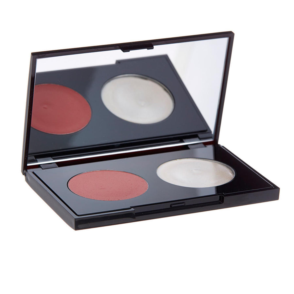 Dalton Cosmetics Blush & H2Glo Cream-To-Powder Duo Baby Cheeks & Natural Glow
