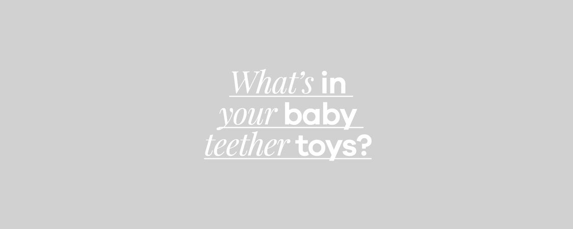 Toxins in Mass Produced Teething Toys?