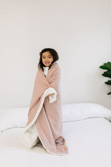 Blush Cozy Blanket